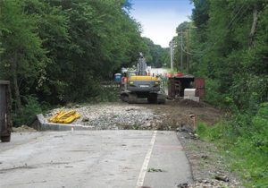 Emergency Bridge Replacement Site